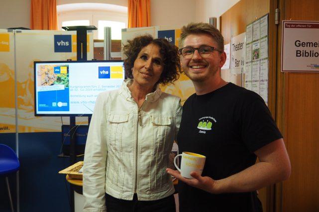Janis Reinsch und Berta Vilar Díaz
