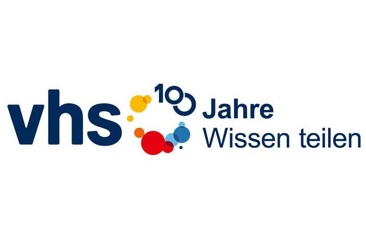 Logo zum VHS-Jubiläum