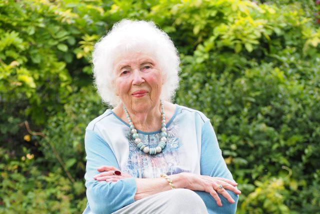 Ursula Knies Kursteilnehmerin