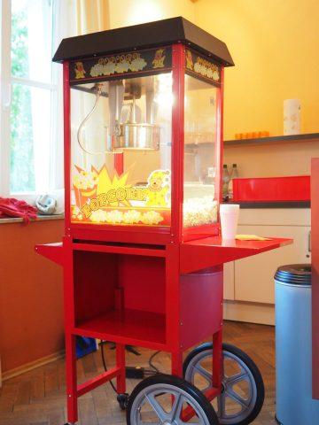 Maschine für Popcorn